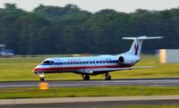 N845AE @ KRIC - Takeoff roll Richmond - by Ronald Barker