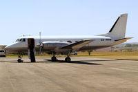 ZS-NHW @ FALA - Grumman G-159 Gulfstream I [141] (Absil Air) Lanseria~ZS 20/09/2006 - by Ray Barber