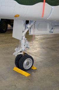 55-3503 @ KPUB - Nose gear- Weisbrod Aviation Museum - by Ronald Barker