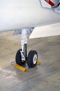 141853 @ KPUB - Nose gear-Weisbrod Aviation Museum - by Ronald Barker