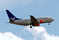 LN-RPW @ EGLL - Boeing 737-683] [28289] (SAS Scandinavian Airlines) Home~G 02/09/2011. On approach 27L. - by Ray Barber