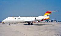 OE-LFK @ LOWW - Fokker F-70 [11555] (Tyrolean Airways) Vienna-Schwechat~OE 20/06/1996