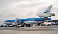 PH-KCF @ EHAM - McDonnell Douglas MD-11 [48560] (KLM Royal Dutch Airlines) Amsterdam-Schiphol~PH 30/08/1996