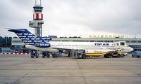 TC-IYA @ EHRD - Boeing 727-2F2 [22999] (Top Air) Rotterdam~PH 30/08/1996