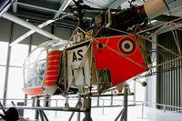 F-ZLAS @ LFPB - SNCASE SE 3130 Alouette II n°01, Air & Space Museum Paris-Le Bourget (LFPB) - by Yves-Q