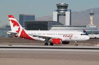 C-GJVY @ KLAS - Airbus A319 - by Mark Pasqualino