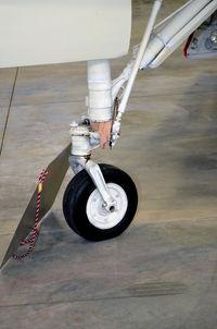 147702 @ KPUB - Nose gear - Weisbrod Aircraft Museum - by Ronald Barker
