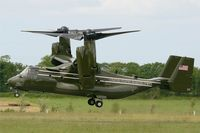 168289 @ LFRB - Presidential USMC Bell-Boing MV-22B Osprey (Code 03-cn D0206) on final to Rwy 25L Brest-Bretagne airport (LFRB-BES) - D Day commemoration with secretary of state John Kerry - by Yves-Q