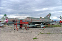 1015 @ LKVY - Sukhoi Su-7UM [1015] (Czech Air Force) Vyskov~OK 09/09/2007