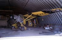 C-FVZZ - This shows the Lysander when it was owned by Harry Whereatt at Assiniboia, Saskatchewan, Canada. - by Alf Adams