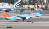C-FOAQ @ KLAS - Boeing 737-800