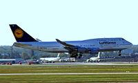 D-ABTE @ EDDF - Boeing 747-430 [24966] (Lufthansa) Frankfurt~D 15/09/2007 - by Ray Barber