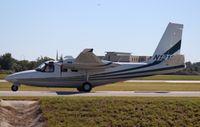 N121SP @ ORL - Aero Commander 680
