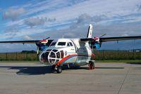 1525 @ LKTB - Let L-410FG Turbolet [851525] (Czech Air Force) Brno-Turany 09/09/2007 - by Ray Barber