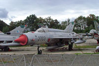 2703 @ LKVY - Mikoyan-Gurevich MiG-21MA Fishbed [962703] (Czech Air Force) Vyskov~OK 09/09/2007 - by Ray Barber