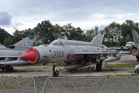 2703 @ LKVY - Mikoyan-Gurevich MiG-21MA Fishbed [962703] (Czech Air Force) Vyskov~OK 09/09/2007