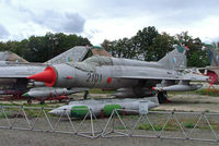 2101 @ LKVY - Mikoyan-Gurevich MiG-21R Fishbed [94R2101] (Czech Air Force) Vyskov~OK 09/09/2007 - by Ray Barber