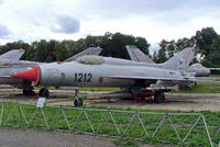 1212 @ LKVY - Mikoyan-Gurevich MiG-21PF Fishbed [761212] (Czech Air Force) Vyskov~OK 09/09/2007 - by Ray Barber