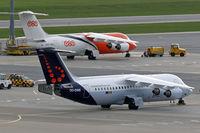 OO-DWE @ LOWW - BAe 146-RJ100 [E3327] (Brussels Airlines) Vienna-Schwechat~OE 12/09/2007