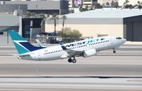 C-FZWS @ KLAS - Boeing 737-700 - by Mark Pasqualino
