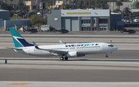 C-GWSX @ KLAS - Boeing 737-800 - by Mark Pasqualino