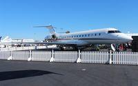 N160QS @ ORL - Net Jets Global 6000