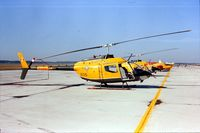 136205 @ CYPG - Photo shows Kiowa 136205 in 1976 when it attended the airshow at Canadian Forces Base Portage la Prairie, Manitoba, Canada. - by Alf Adams