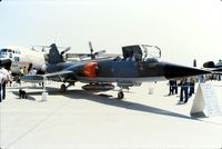 104773 @ CYMJ - Photo shows CF-104 Starfighter 104773 in 1982 when it was displayed at the Saskatchewan Airshow at Canadian Forces Base Moose Jaw, Saskatchewan, Canada. - by Alf Adams