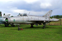 0109 @ LZPP - Mikoyan-Gurevich MiG-21F-13 Fishbed [460109] (Slovak Air Force) Piestany~OM 11/09/2007 Unmarked port side. Still wears Czech Air Force marks. - by Ray Barber