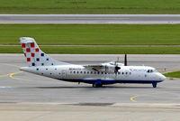 9A-CTU @ LOWW - Aerospatiale ATR-42-320QC [394] (Croatia Airlines) Vienna-Schwechat~OE 12/09/2007 - by Ray Barber