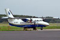 OK-WDT @ LKMT - Let L-410 UVPE Turbolet [912615] (Silver Air) Ostrava-Mosnov~OK 10/09/2007