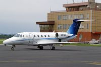 OE-GLS @ LKMT - Cessna 650 Citation VII [650-7110] (Jet Alliance) Ostrava-Mosnov~OK 10/09/2007