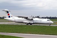 YU-ALN @ LOWW - Aerospatiale ATR-72-201 [180] (JAT Airways) Vienna-Schwechat~OE 13/09/2007