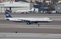 N176UW @ KLAS - Airbus A321 - by Mark Pasqualino