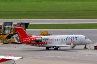 S5-AAD @ LOWW - Canadair CRJ-200LR [7166] (Adria Airways) Vienna-Schwechat~OE 12/09/2007