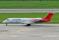 S5-AAD @ LOWW - Canadair CRJ-200LR [7166] (Adria Airways) Vienna-Schwechat~OE 12/09/2007 - by Ray Barber