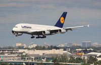 D-AIMA @ MIA - Lufthansa A380
