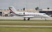 N197SW @ PBI - Gulfstream 4