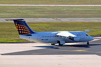 D-AEWD @ EDDF - BAe 146-200 [E2069] (Eurowings/Lufthansa Regional) Frankfurt~D 15/09/2007