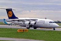 D-AVRA @ LOWW - BAe 146-RJ85 [E2256] (Lufthansa Regional) Vienna-Schwechat~OE 13/09/2007