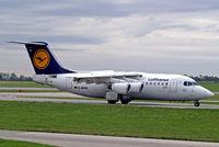 D-AVRA @ LOWW - BAe 146-RJ85 [E2256] (Lufthansa Regional) Vienna-Schwechat~OE 13/09/2007 - by Ray Barber