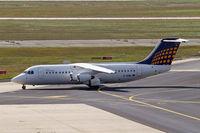 D-AEWL @ EDDF - BAe 146-300 [E3123] (Eurowings/Lufthansa Regional) Frankfurt~D 15/09/2007 - by Ray Barber