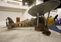 MM5701 - Preserved inside London - RAF Hendon Museum - by Shunn311