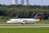 D-AEWE @ EDDL - BAe 146-200 [E2077] (Eurowings/Lufthansa Regional) Dusseldorf~D 15/09/2007