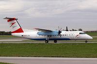 OE-LTD @ LOWW - De Havilland Canada DHC-8Q-314 Dash 8 [400] (Austrian Arrows) Vienna-Schwechat~OE 13/09/2007