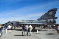 57-2476 @ CYED - Photo shows F-106A 57-2476 on display at the annual airshow at Canadian Forces Base Edmonton (Namao), Alberta, Canada in 1986. - by Alf Adams