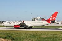 G-VINE @ LMML - A330 G-VINE Virgin Atlantic - by Raymond Zammit