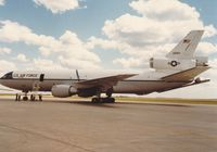 82-0193 @ CYMJ - Photo shows KC-10A Extender on display at the annual airshow at Canadian Forces Base Moose Jaw, Saskatchewan, Canada in 1986. - by Alf Adams