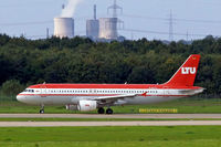 D-ALTJ @ EDDL - Airbus A320-214 [1838] (LTU) Dusseldorf~D 15/09/2007 - by Ray Barber