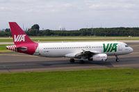LZ-MDT @ EDDL - Airbus A320-214 [2108] (Air VIA Bulgarian Airways) Dusseldorf~D 15/09/2007 - by Ray Barber